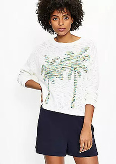 Lou & Grey Palm Tree Sweater