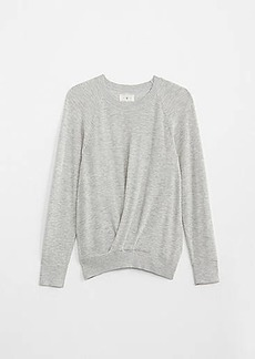 Lou & Grey Pleated Sweater