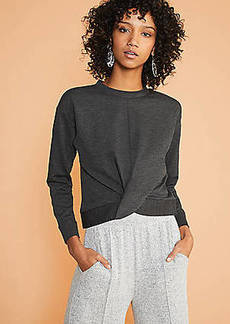 Lou & Grey Ponte Twist Sweatshirt