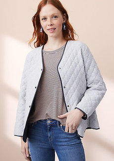 Lou & Grey Reversible Quilted Jacket
