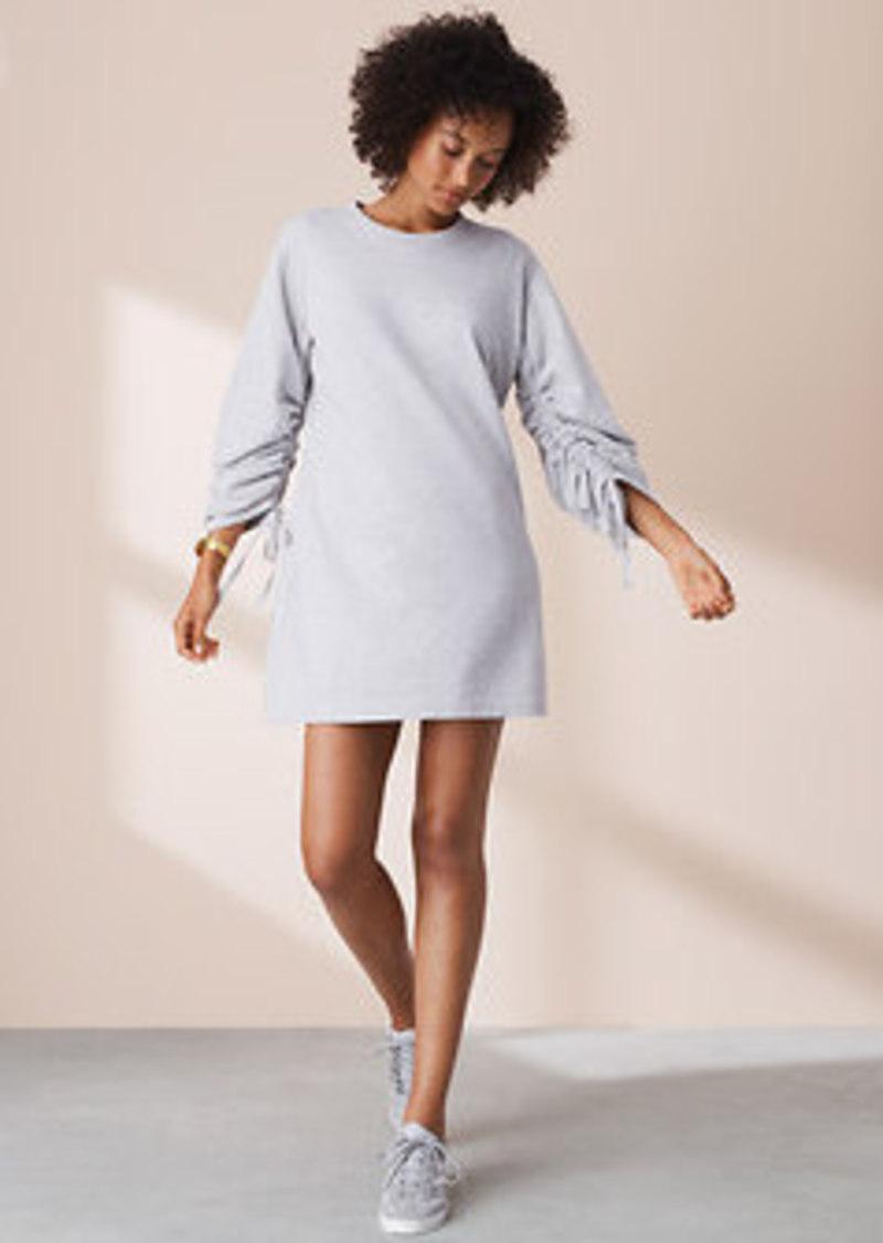 b8ff412ee48 Lou   Grey Lou   Grey Ruched Sweatshirt Dress