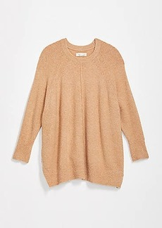 Lou & Grey Seamed Poncho Sweater