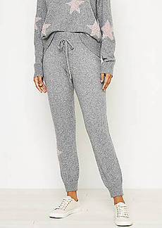 Lou & Grey Shimmer Star Sweater Joggers