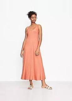 Lou & Grey Signature Softblend Lite Double V Maxi Dress