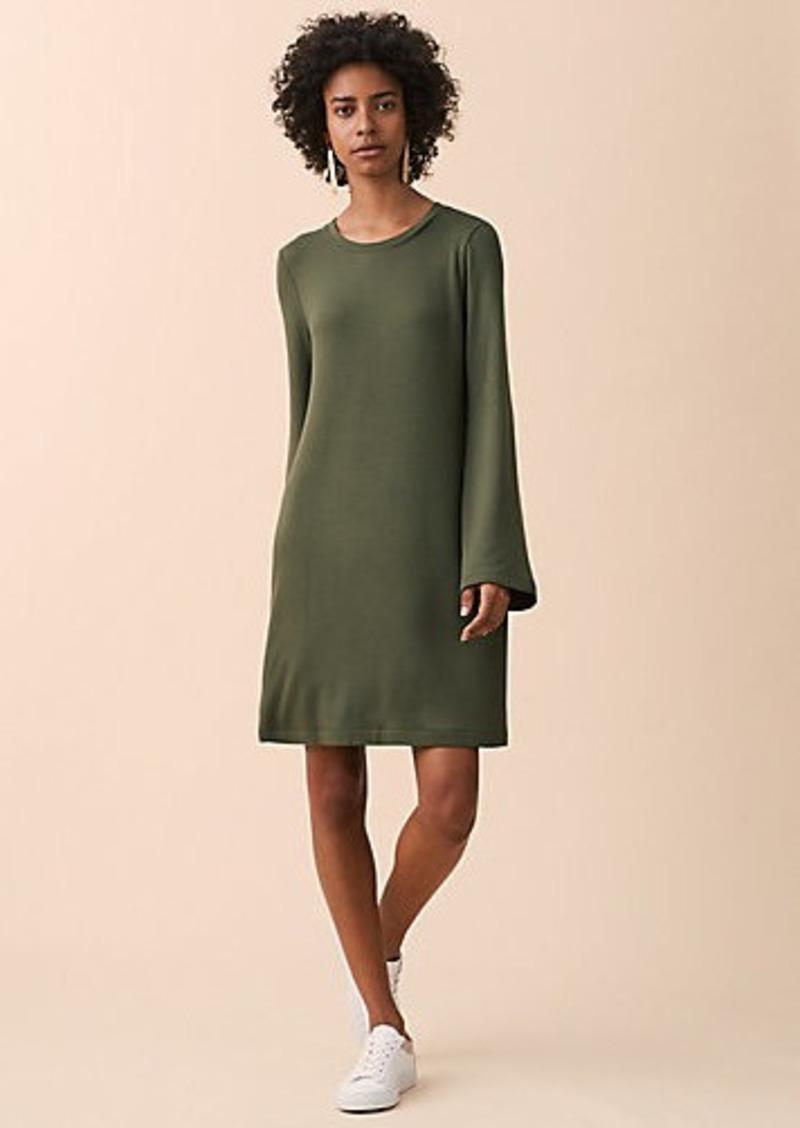LOFT Lou & Grey Signaturesoft Bell Sleeve Dress