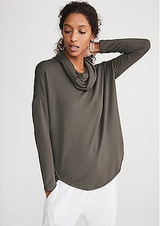 LOFT Lou & Grey Signaturesoft Cowl Shirttail Top