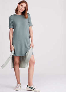LOFT Lou & Grey Signaturesoft Cuffed Tee Dress