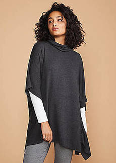 LOFT Lou & Grey Signaturesoft Funnel Neck Poncho