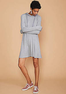 LOFT Lou & Grey Signaturesoft Hoodie Dress