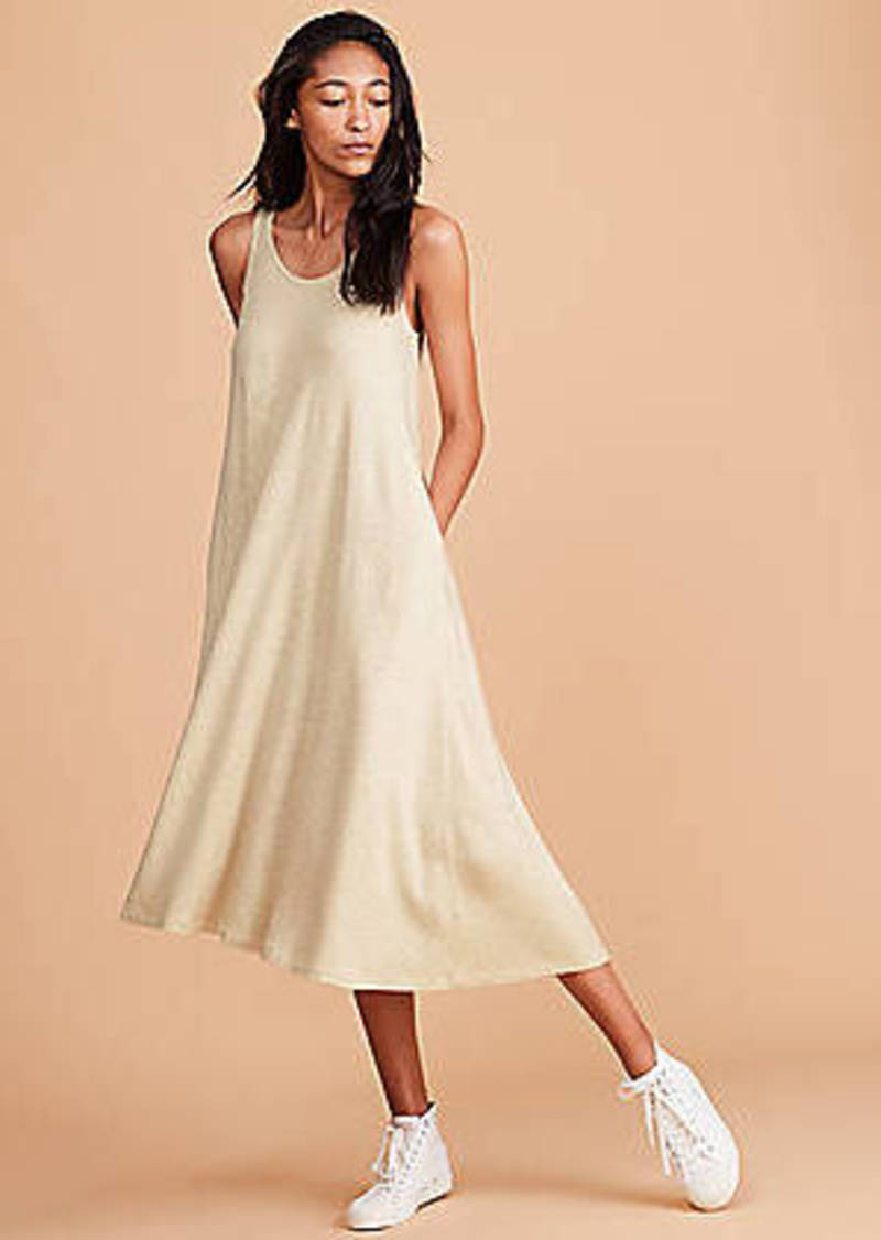 LOFT Lou & Grey Signaturesoft Midi Swing Dress