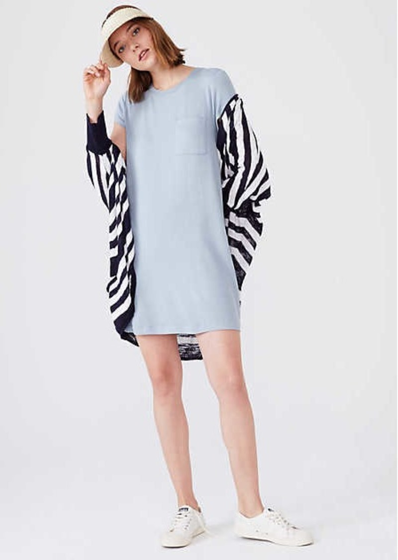 LOFT Lou & Grey Signaturesoft Pocket Tee Dress
