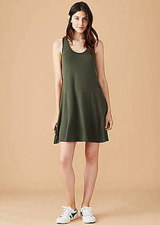 LOFT Lou & Grey Signaturesoft Racerback Tank Dress