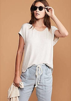 LOFT Lou & Grey Signaturesoft Seamed Shirttail Tee