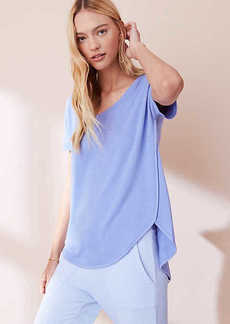 LOFT Lou & Grey Signaturesoft Shirttail Tee