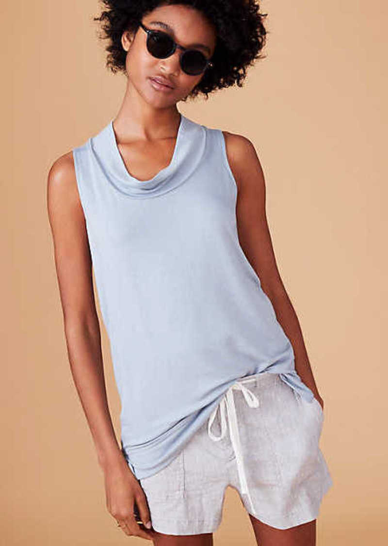 LOFT Lou & Grey Signaturesoft Sleeveless Cowl Top