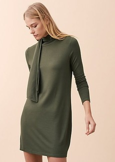 Lou & Grey Signaturesoft Turtleneck Scarf Dress
