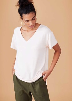 LOFT Lou & Grey Signaturesoft V-Neck Tee