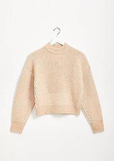 Lou & Grey Slouchy Mock Neck Sweater