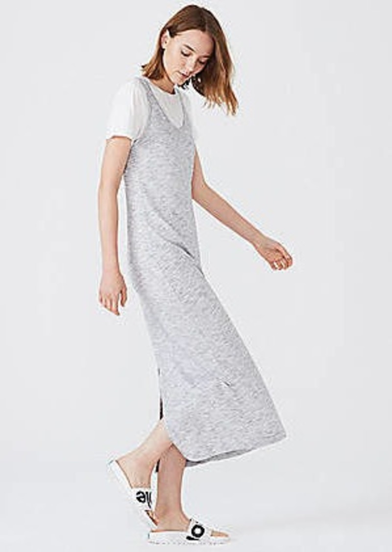 LOFT Lou & Grey Softened Spacedye Maxi Dress