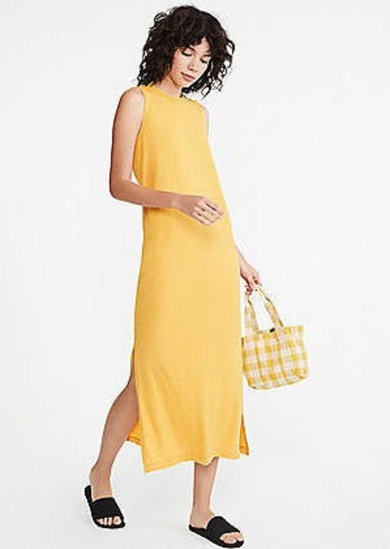 LOFT Lou & Grey Softserve Slub Maxi Dress