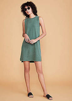 LOFT Lou & Grey Softserve Slub Tank Dress