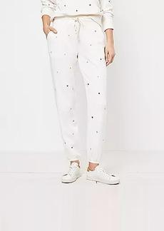 Lou & Grey Star Terry Sweatpants