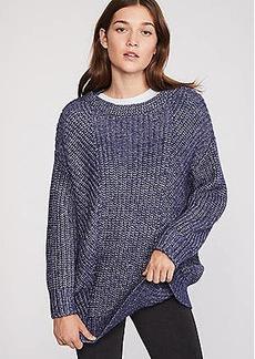 LOFT Lou & Grey Stitchy Tunic Sweater