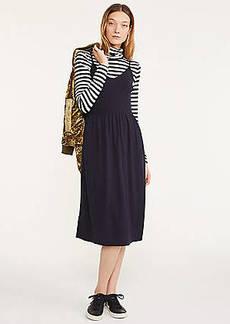 Lou & Grey Strappy Sweater Slip Dress