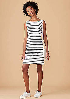 LOFT Lou & Grey Striped Backside Dress
