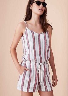LOFT Lou & Grey Striped Cami Romper