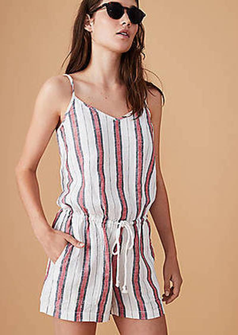 LOFT Lou & Grey Striped Cami Romper