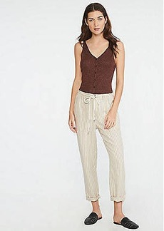 Lou & Grey Striped Linen Rope Tie Pants