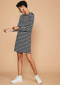 LOFT Lou & Grey Striped Shift Dress