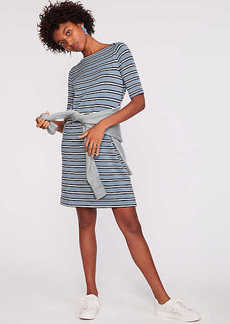 LOFT Lou & Grey Striped Signaturesoft Boatneck Dress