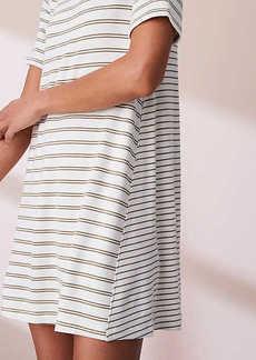 Lou & Grey Striped Signaturesoft Tee Dress