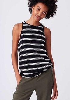 LOFT Lou & Grey Striped Signaturesoft Tunic Tank
