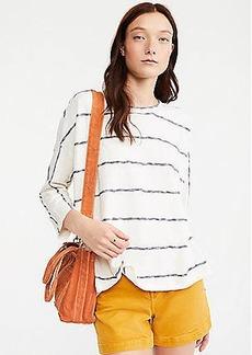 Lou & Grey Striped Slub Jersey Top