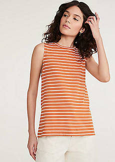 Lou & Grey Striped Softserve Slub Tank