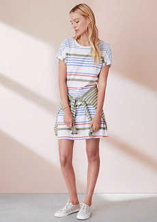 LOFT Lou & Grey Stripewash Tee Dress