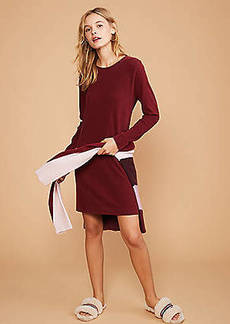Lou & Grey Sueded Cotton Tee Dress