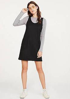 Lou & Grey Sueded Pocket Jumper Dress