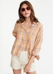 Lou & Grey Sun Plaid Shirt