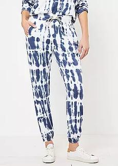Lou & Grey Tie Dye Terry Sweatpants