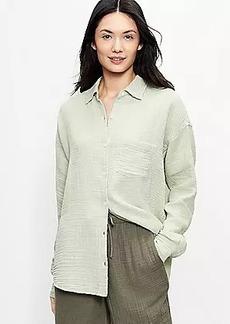 Lou & Grey Triple Cloth Tunic Shirt