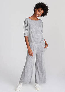 LOFT Lou & Grey Tucked Jumpsuit