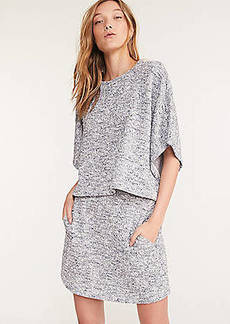 Lou & Grey Tweedweave Poncho Top