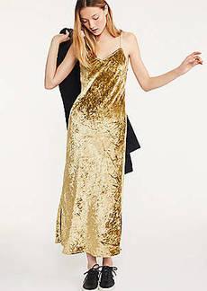 Lou & Grey Velvet Maxi Slip Dress