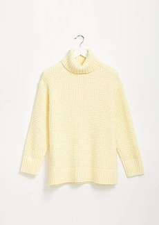 Lou & Grey Wafflestitch Turtleneck Sweater