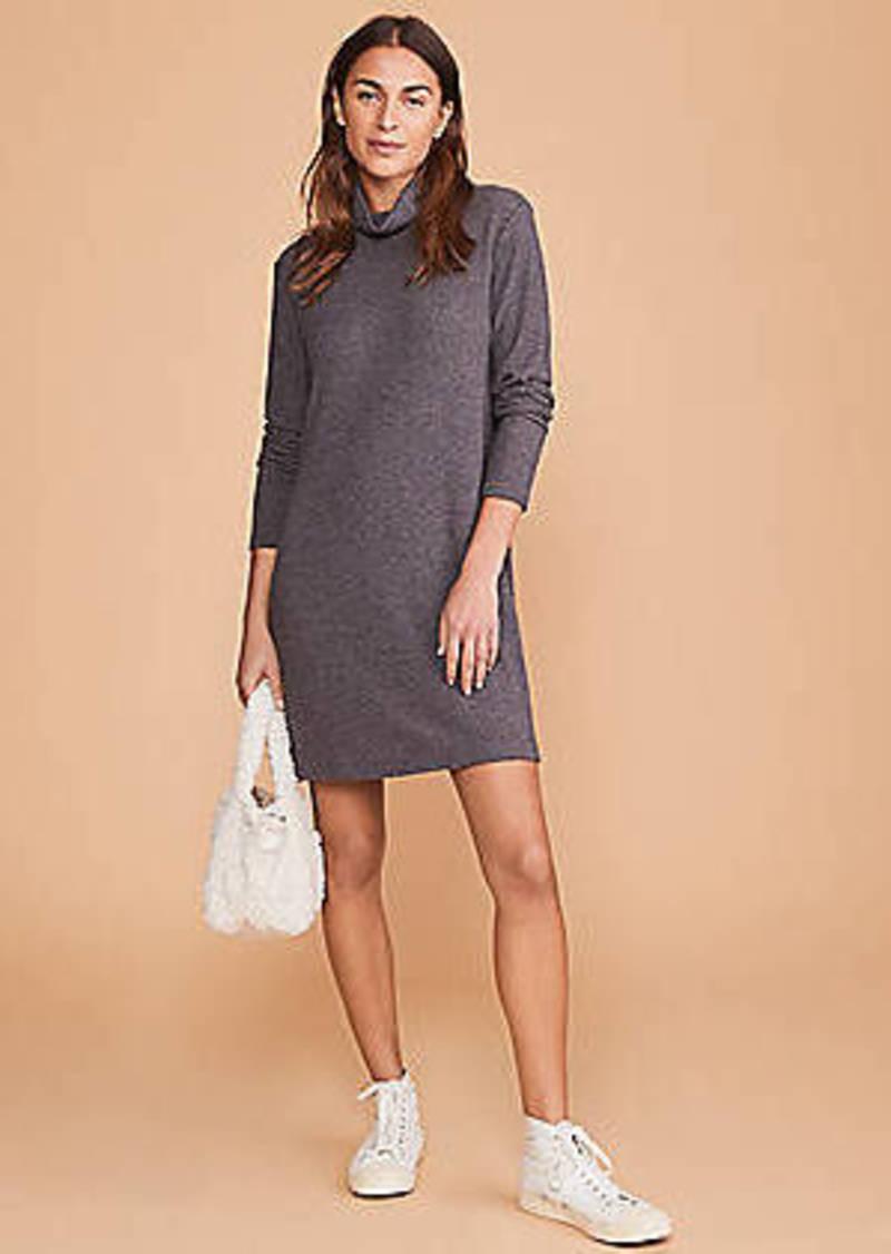 Lou & Grey Toasty Knit Turtleneck Dress