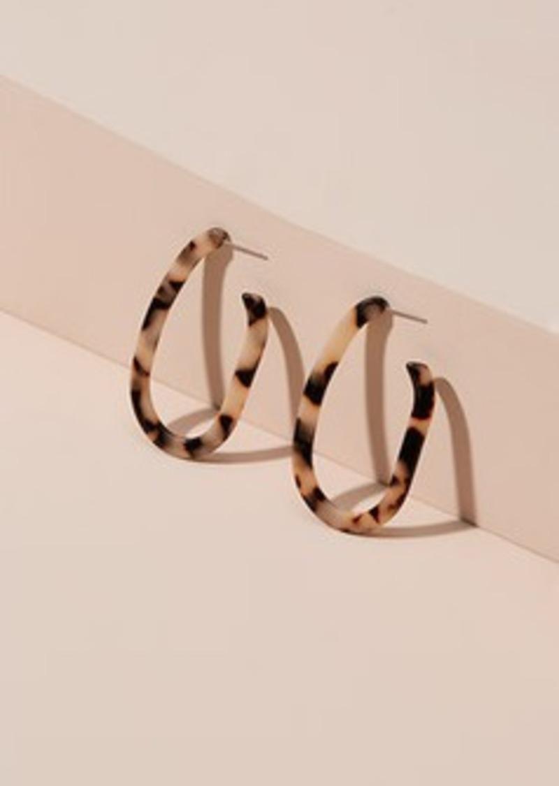 Lou & Grey Machete Jewelry Margot Earrings in Blonde